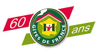 Logo 60ans Gîtes de France